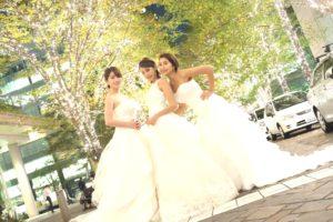 ウエディングドレス女子会テレビ