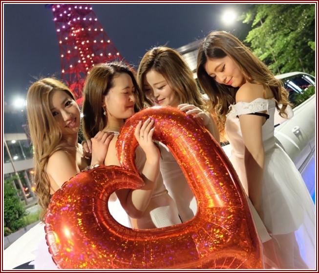 リムジン女子会東京28800円!女子得リムジンでパーティー女子会