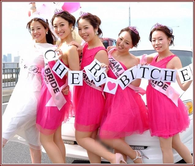 東京でバチェロレッテパーティーが楽しめる!業界初ウエディングドレスレンタル無料