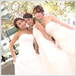 ウエディングドレス女子会(リムジンパーティー)